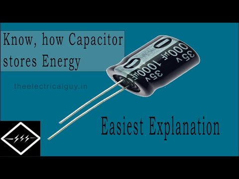 How Capacitor Stores Energy | Explained | Theelectricalguy