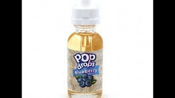 Juice review for Blueberry Pop Drops and Zoey by Flavies