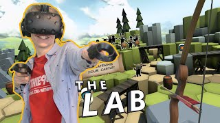 FIRST VR GAMEPLAY WITH THE VIVE! | The Lab (HTC Vive)