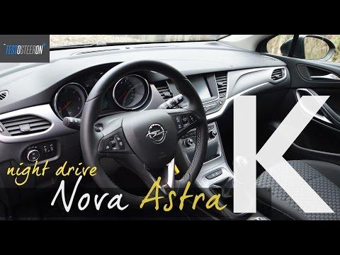 NEW OPEL ASTRA K NIGHT DRIVE