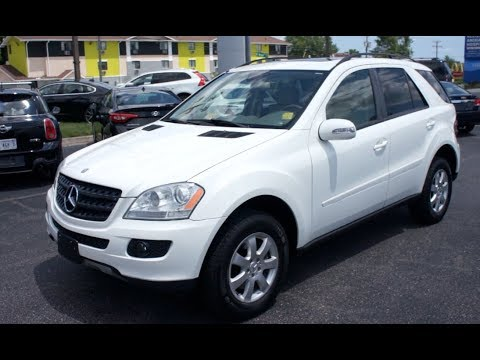 2007 Mercedes-Benz ML350 4Matic Walkaround, Start up, Tour and Overview
