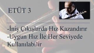 Mehmet KINIK - Uzun Sap Bağlama İniş Çıkış Egzersizleri (Etüt 3)