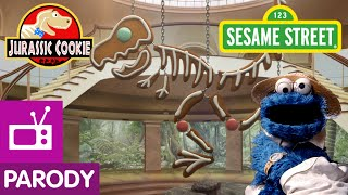Repeat youtube video Sesame Street: Jurassic Cookie (Jurassic Park Parody)