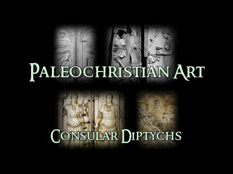 Paleochristian Art - 3 Consular Diptychs