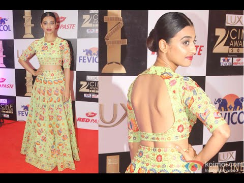 Spotted Radhika Apte At Star Studded Red Carpet | Zee Cine Awards 2016