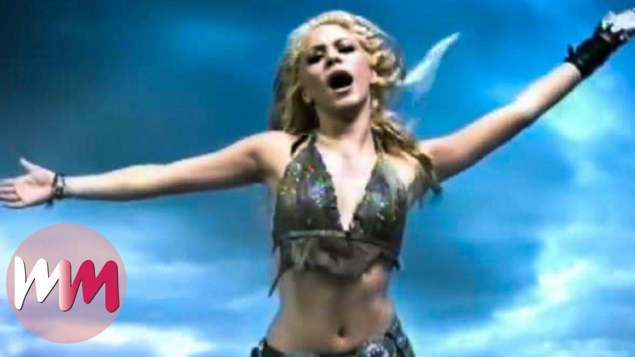 Top 10 Best Shakira Music Videos - Youtube-2817
