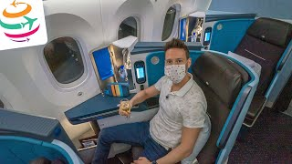 KLM 787 Business Class, fast wie vor Corona! | YourTravel.TV