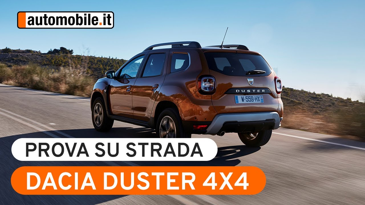 dacia duster 4x4 prova su strada youtube
