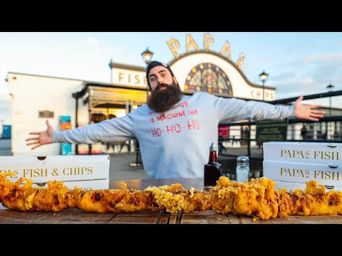 EATING THE WORLD'S BIGGEST PIG IN A BLANKET...DEEP FRIED | MOVING HOUSE | C.O.B. Ep.133