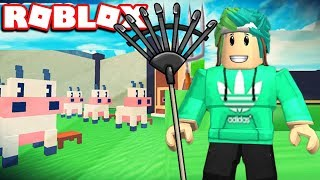 WORK AND GET RICH IN ROBLOX FARMING SIMULATOR