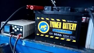 видео Реанимируем разряженный аккумулятор авто