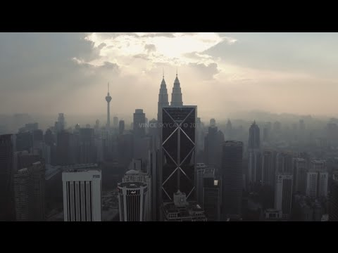 Kuala Lumpur Skyline 2016 (The Essence of Asia) | Drone Aerial