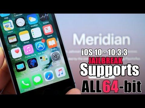 Semi Jailbreak iOS 10 3 3 Meridian Beta 6 IPA Install Cydia