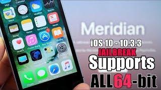 Semi Jailbreak iOS 10.3.3 Meridian Beta 6 IPA Install Cydia Impactor Method iPhone/iPad/iPod