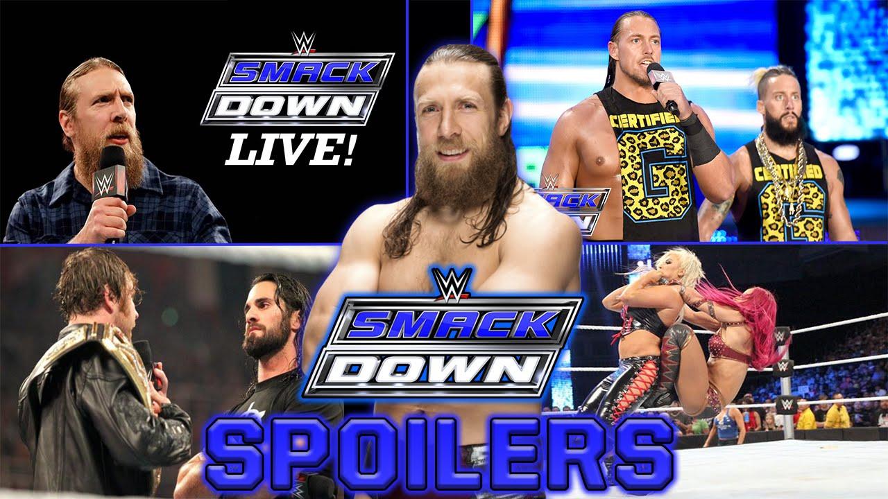 WWE Smackdown 14/7/16 Spoilers - NEW Smackdown GENERAL ...