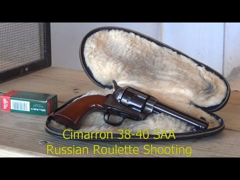 Cimarron SAA 38-40 Reverse Russian Roulette at the Range