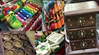 Wooden toys for kids and wooden decor items in madurai | Meenakshi maligai madurai | madurai Tour -1