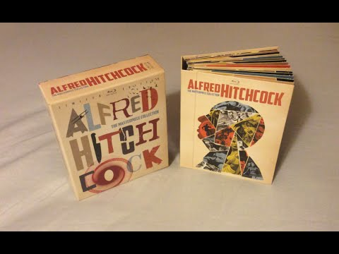 Alfred Hitchcock: The Masterpiece Collection (1942-1976) Blu Ray Review and Unboxing