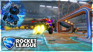 ROCKET LEAGUE SNOW  DAY{ICE HOCKEY MODE }THE  SHOT ATTEMPT