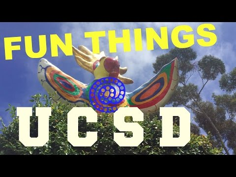 Fun Things: A Tour of UC San Diego (UCSD)