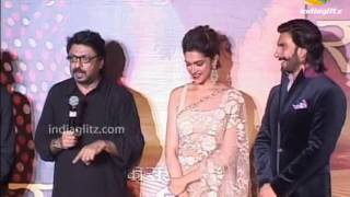 Ranveer, Deepika At 'Ram Leela' Trailer Launch | Bollywood Movie | Sanjay Leela Bhansali, Richa
