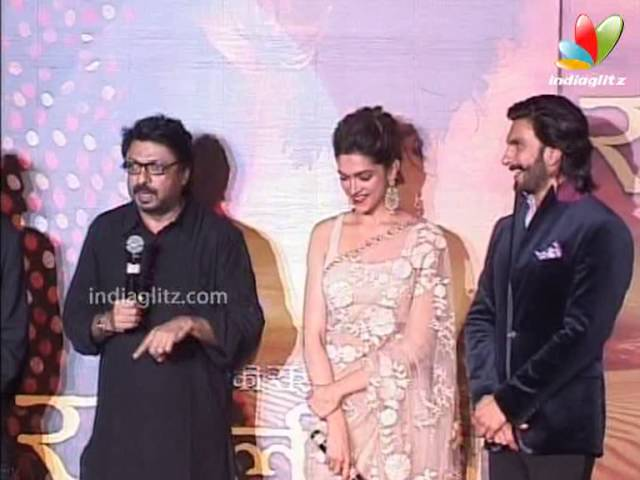 Ranveer, Deepika At 'Ram Leela' Trailer Launch | Bollywood Movie | Sanjay Leela Bhansali, Richa Travel Video
