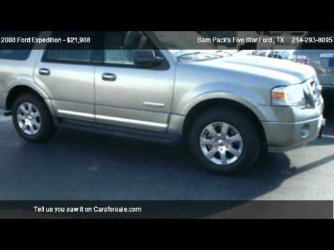 2008 ford expedition xlt for sale in carrollton tx 75006 youtube. Black Bedroom Furniture Sets. Home Design Ideas