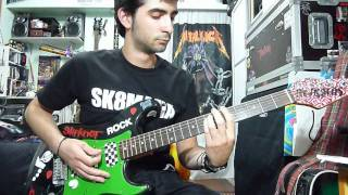 Sum 41 - In Too Deep Cover w/ solo (Josu Alecha)