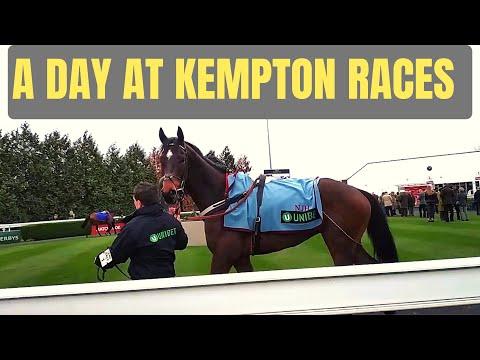 A DAY AT KEMPTON PARK RACECOURSE