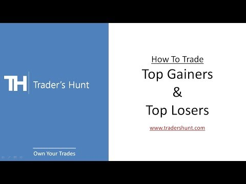 How To Trade Top Gainers/Losers| Realtime Live Intraday Screener