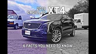 2019 Cadillac XT4  - 6 FACTS YOU NEED TO KNOW!