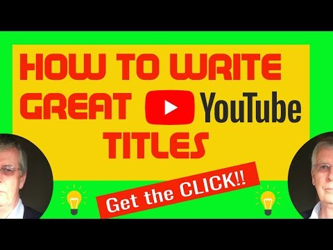 How To Choose The Best Title For Your Video from YouTube · Duration:  9 minutes 14 seconds