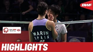 DANISA Denmark Open 2019 | Quarterfinals WS Highlights | BWF 2019