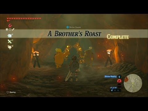 The Legend Of Zelda Breath Of The Wild Qukah Nata Shrine A Song