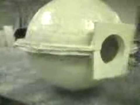 Custom Fiberglass Form For A Pre Cast Concrete Ball Youtube