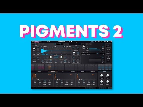 NEW Arturia Pigments 2.0 Presets Demo