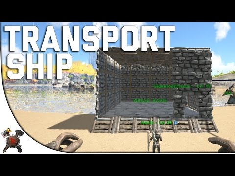 TRANSPORT SHIP! - Ark Survival Evolved PVP Server (Season 4 Part 21)