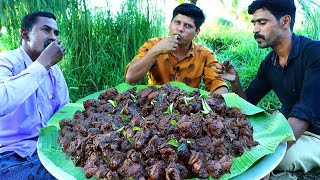 CHICKEN CHUKKA | Chettinad Chicken Varual | Healthy Country Chicken Fry | Village Food Recipes