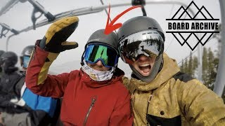 Snowboarding With TJ From Board Archive - (Season 3, Day 18)
