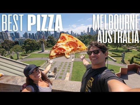 AMERICANS TRY MELBOURNE'S BEST PIZZA - Australia Pizza Tour