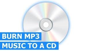 How to burn a MP3 CD with folders using ImgBurn (free CD/DVD burning software)