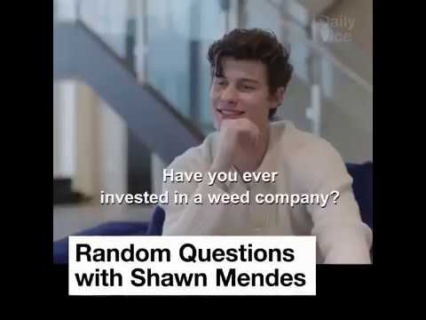 Shawn Mendes Answering Random Questions With Vice Canada