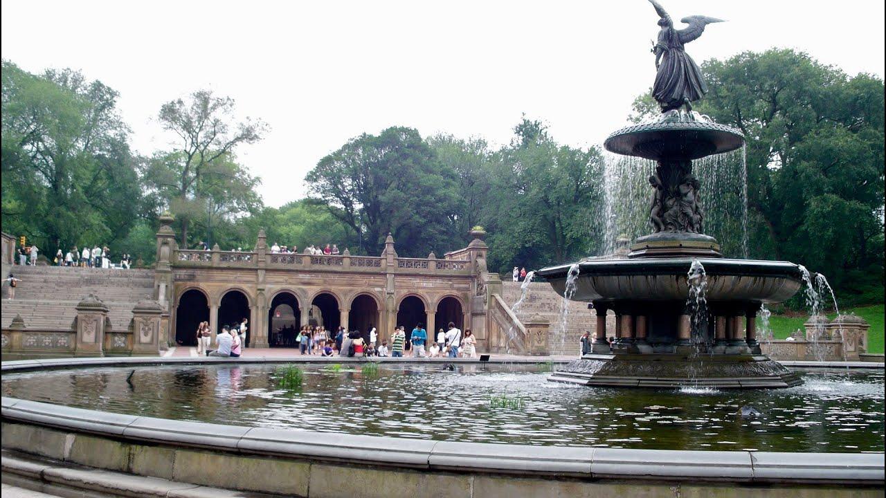 Bethesda Fountain | New York City, Central Park | Stock Footage [HD]