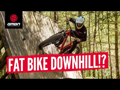 Can You Ride A Fat Bike Down Fort William World Cup Downhill Track?