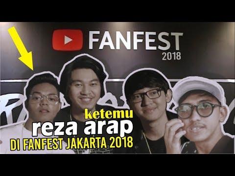 Ketemu REZA OKTOVIAN di YouTube FanFest Jakarta 2018