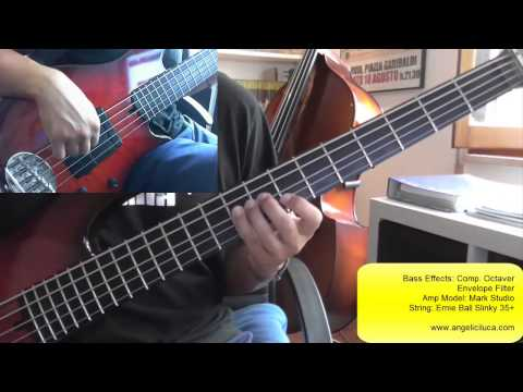 Big Time - Peter Gabriel - Bass Cover - Tony Levin Bassline