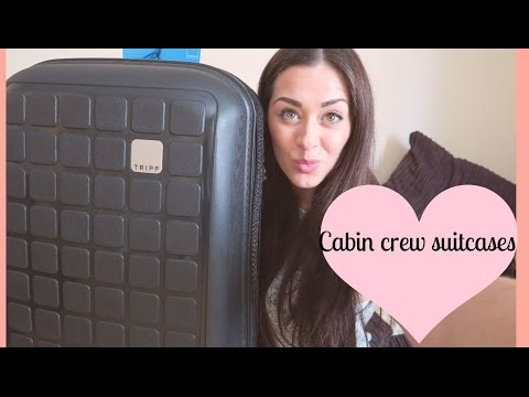 WHAT LUGGAGE TO GET AS CABIN CREW ?!  Tasha Parker