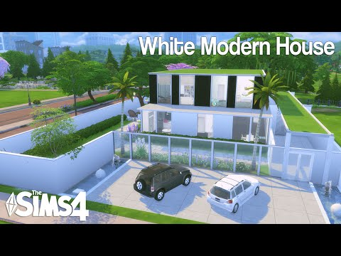The Sims 4: House Build | White Modern House + :: AMINO APPS ::