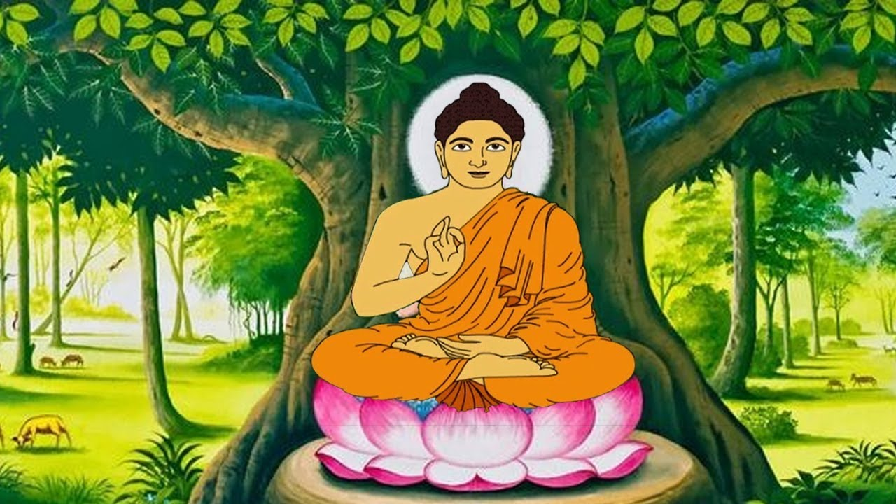 lord buddha english short