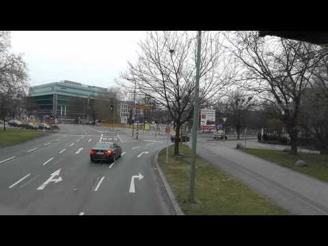 Berlin: Doppeldecker-Busfahrt vom KaDeWe zum Anhalter Bahnhof Potsdamer Platz Bus ride from KDW